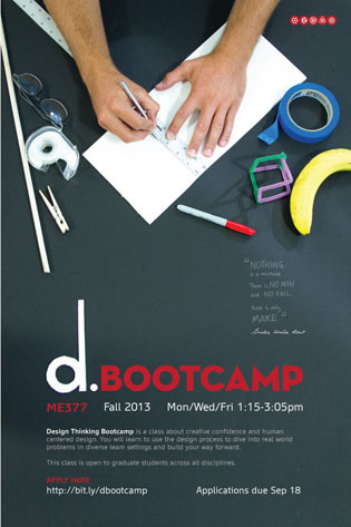 d.school bootcamp