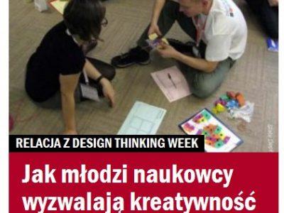 Design Thinking Week okiem Gazety Wyborczej
