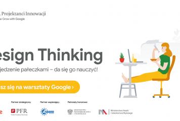 Warsztaty Design Thinking z Google i PFR – Projektuj Innowacje