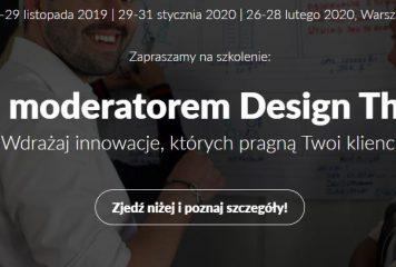 Zostań moderatorem Design Thinking! Szkolenie