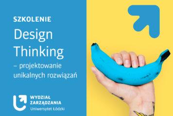 Design Thinking – projektowanie unikalnych rozwiązań – szkolenie online