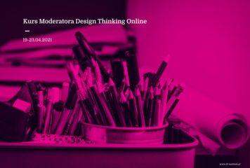 Kurs Moderatora Design Thinking Online