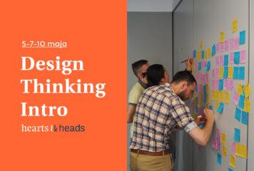 Design Thinking Intro – warsztaty on-line