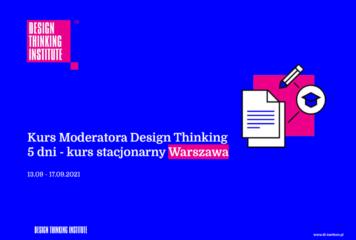 Kurs Moderatora Design Thinking Warszawa